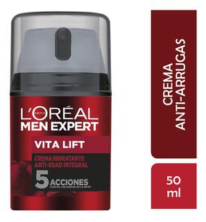 Crema Antiarrugas Hombre, Vitalift, Men Expert Loreal, 50 Ml