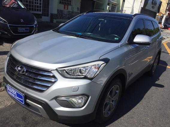 Hyundai Grand Santa Fe 3.3 Top 7 Lugares Teto Couro 12x 8487