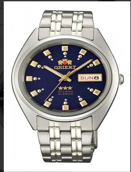 Reloj Orient Automatico 21 Jewels Fab00009d9