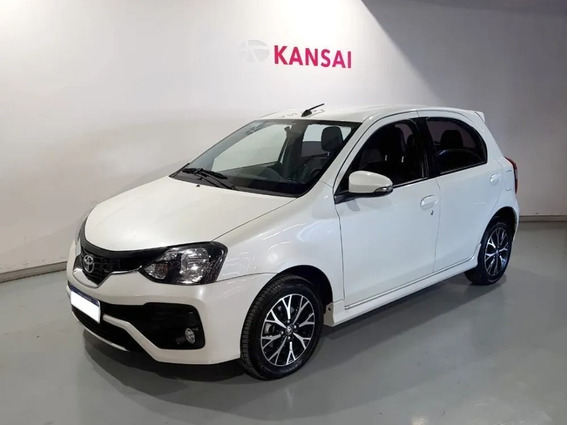 Toyota Etios Platinum At 5p 2018