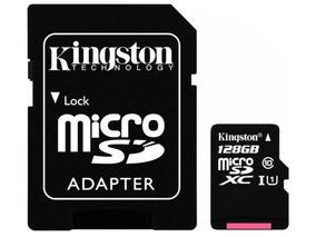 Cartão De Memória Micro Sd Kingston Sdcs De 128gb Msdxc-i