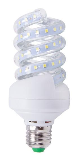 Kit 15 Lâmpada 12w Branco Frio Milho Espiral Milho Bivolt
