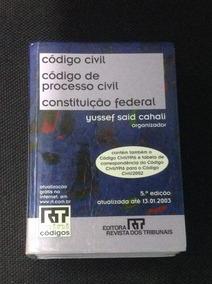 Código Civil/processo Civil/cf (rt Mini Códigos) 5ª Ed. 2003
