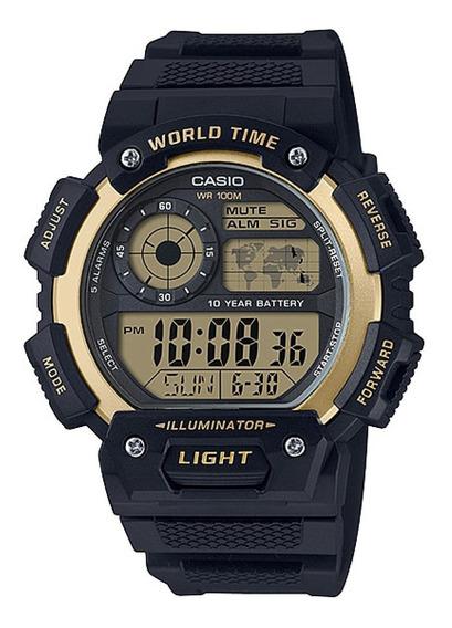 Relógio Casio Standard Masculino Digital Ae-1400wh-9avdf