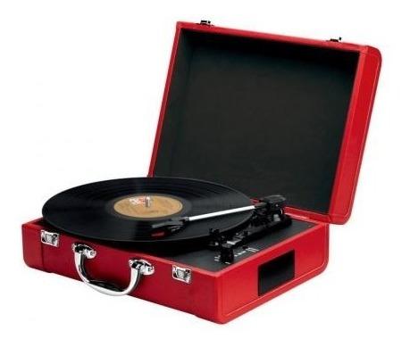 Rádio Toca Disco Goldship Cxr1503 Nostalgic Disma Vermelho