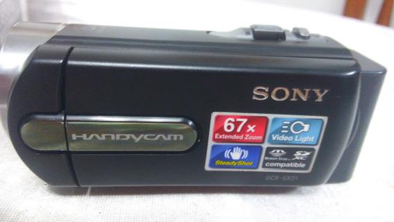 Camara Filmadora.handycam Sony Dcr-sx21 / 67x Megapixeles