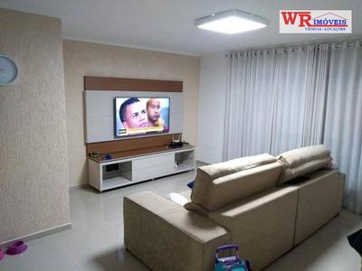 Sobrado Com 3 Dormitórios À Venda, 110 M² Por R$ 550.000 - Vila Scarpelli - Santo André/sp - So0690