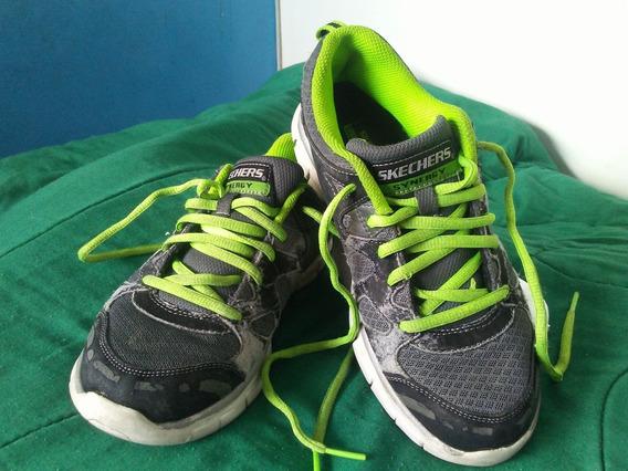 Zapatos Deportivos Marca Skechers Originales.talla 35 Usa 4