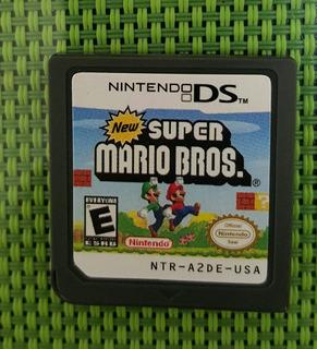Juego Para Nintendo Ds Super Mario Bros