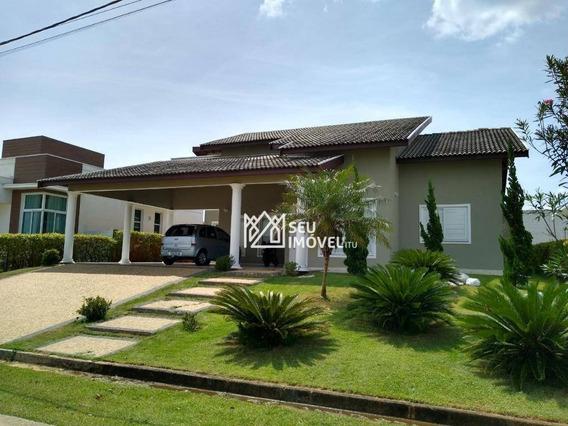 Casa Com 3 Dormitórios À Venda, 210 M² Por R$ 820.000 - Condomínio Palmeiras Imperiais - Salto/sp - Ca1922