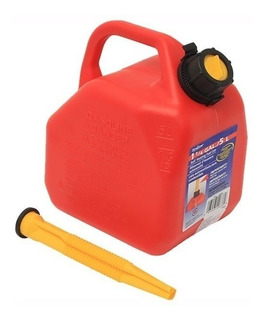 Bidon Para Gasolina 5 Litros Rojo