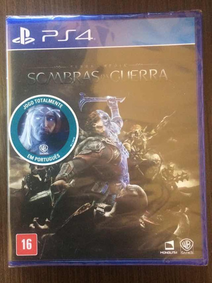Jogo Sombras Da Guerra - Playstation 4 (mídia Física)