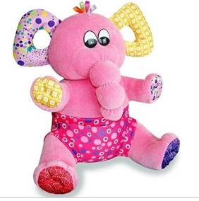 Pelúcia Elefante Pipo Rosa Forte - Anjos Baby