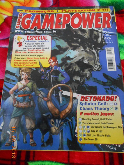 Revista Super Game Power - Nº 122 - Zelda, Metal Gear Solid