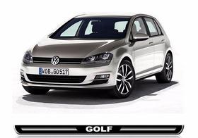 Kit Soleira Resinada Volkswagen Golf - Preta