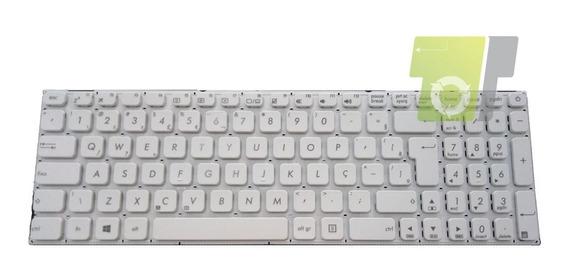 Teclado Notebook Asus X541u Vd2019073013 Branco Br/ç