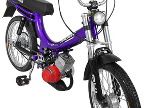 Bicicleta Motorizada Moby 2 Tempos 40cc - Roxo