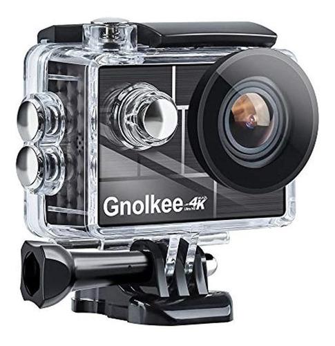 Imagen 1 de 1 de Cámara deportiva Gnolkee G44H 4K black