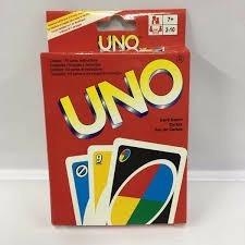 Jogo De Cartas Uno / Baralho Uno 03 Unidades