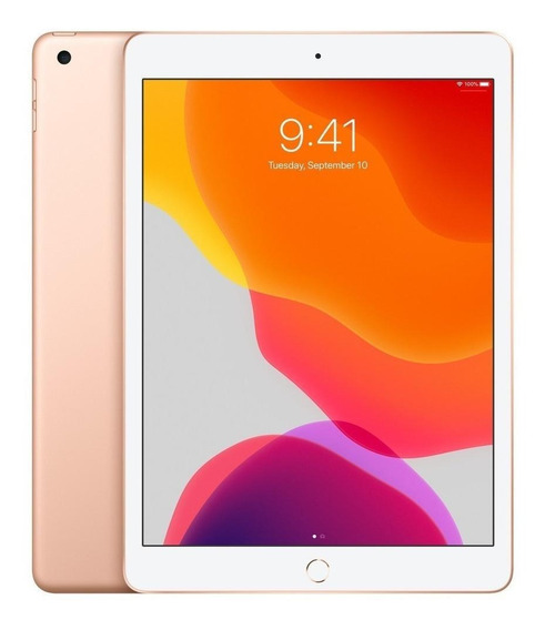 "iPad Apple 7ª Generación 2019 A2197 10.2"" 128GB gold com memória RAM 3GB"