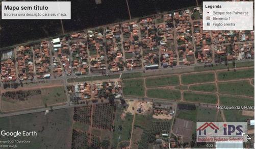 Terreno Residencial À Venda, Bosque Das Palmeiras, Campinas. - Te0441