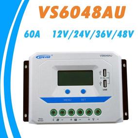 Controlador Carga 60a 12v/24v/36v/48v Epever + Sensor Temp.
