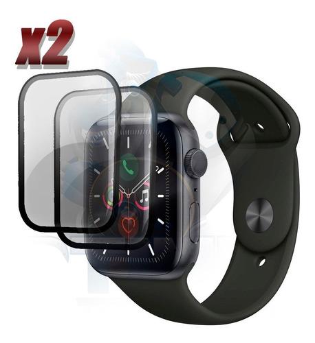 Screen Vidrio Protector Iwatch Serie 5 44mm X2 Unidades