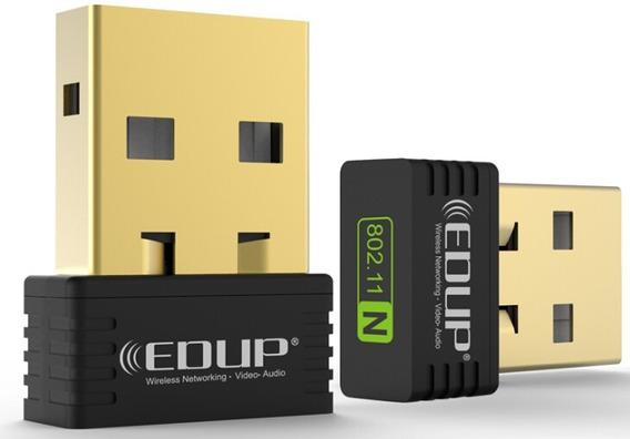 Mini Adaptador Edup Wireless Usb 2.0 B/g/n 150mps