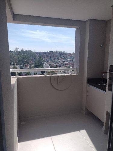 Apartamento Com 2 Dormitórios Para Alugar, 53 M² Por R$ 1.450,00/mês - Vila Tibiriçá - Santo André/sp - Ap9748