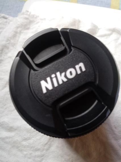 Lente Nikon 18/55 Af- P Dx Usada Poucas Vezes Apenas