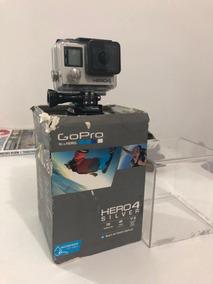 Câmera Gopro Hero 4 Silver + Acessórios