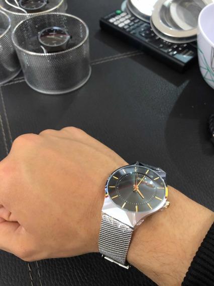 Reloj Julius Color Plata Hombre