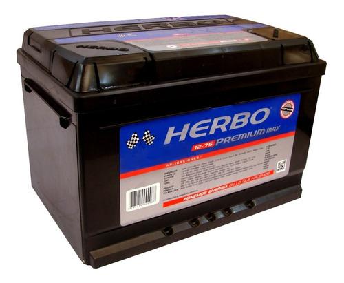 Bateria 12x75 Vw Suran Nafta Herbo Premium Max