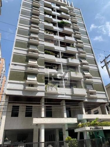 Apartamento Com 3 Dormitórios Para Alugar, 150 M² Por R$ 4.000,00/mês - Ponta Da Praia - Santos/sp - Ap7691