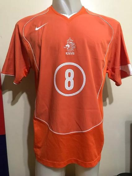 Camiseta Holanda 2004 Edgar Davids 8