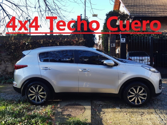 Kia Sportage Ex 2.0 At 4x4 Cuero Techo Automatica Panoramico
