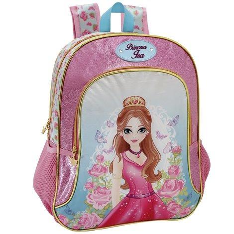 Mochila Escolar Infantil Princesa Isa Yangzi