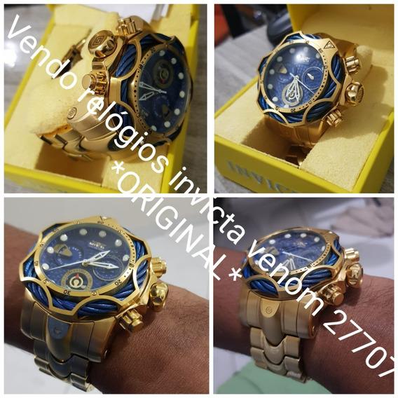 Relógios Invicta Venom 27707 *original* Com Nota Fiscal