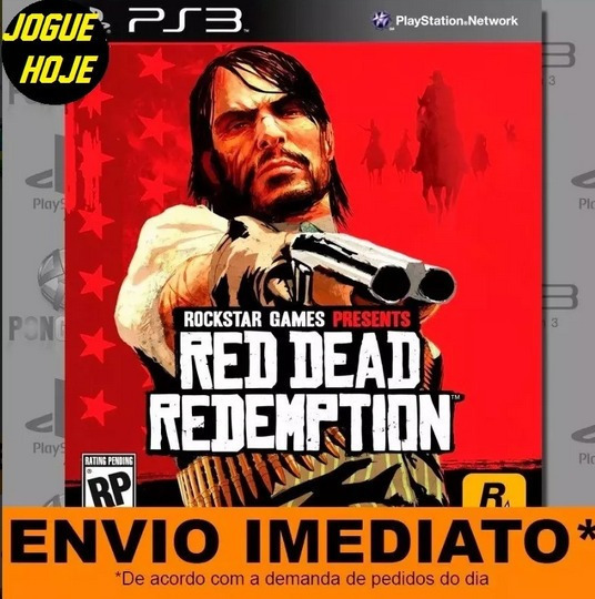 Jogo Ps3 Red Dead Redemption Play 3 Digital Envio Imediato