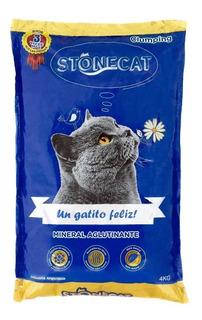 Stone Cat X 20kg (5 U.x 4 Kg)piedras Sanitarias Aglomerantes