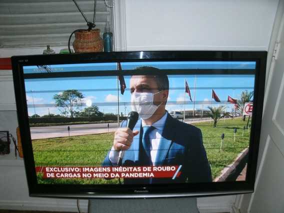 Tv Panasonic 50 Tela Ruim
