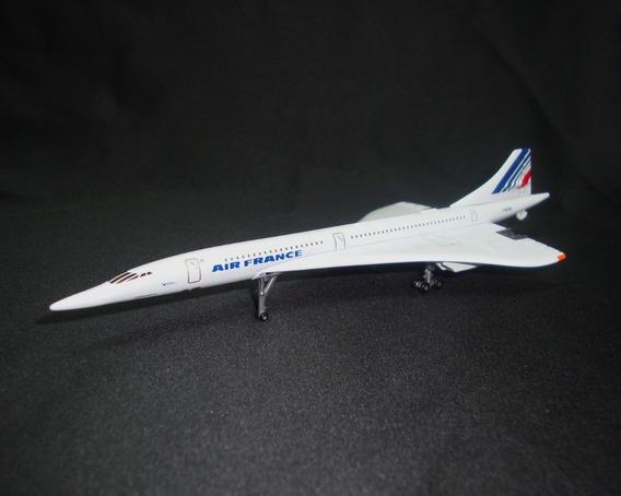 Miniatura / Maquete Avião Concorde Air France 1/400