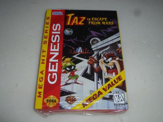 Mega Drive Jogo Original Completo Taz In Escape Mars Lacrado