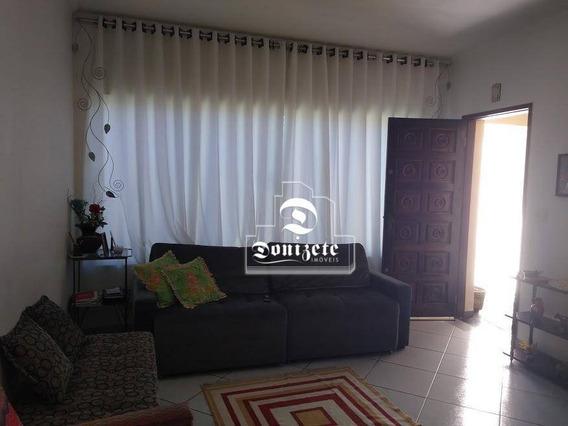 Sobrado Residencial À Venda, Vila Alzira, Santo André. - So0993