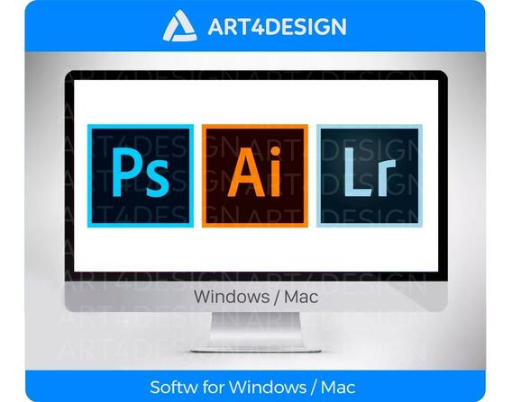 Adobe Photoshop + Lightroom Cc 2020 Win Mac +ai+brindesbonus
