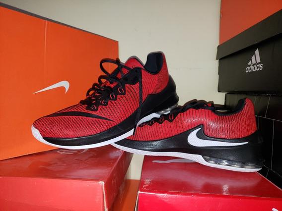 Tenis De Basquetbol Nike Air Max Infuriate Ii Originales