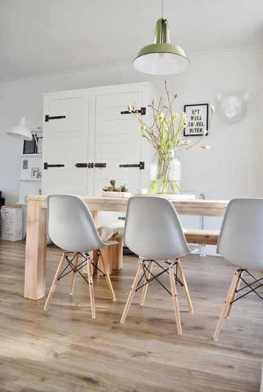Silla Eames Moderna Minimalista Bw 235