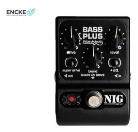 Pedal Nig Bass Plus Felipe Andreoli Pbpl- 2 Anos De Garantia