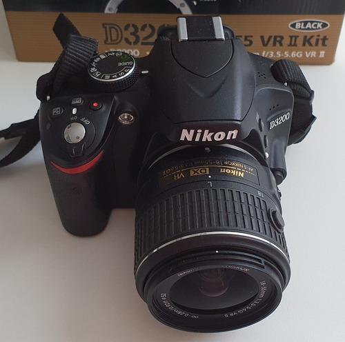 Câmera Digital Nikon D3200 + Cartão De Memória 32gb