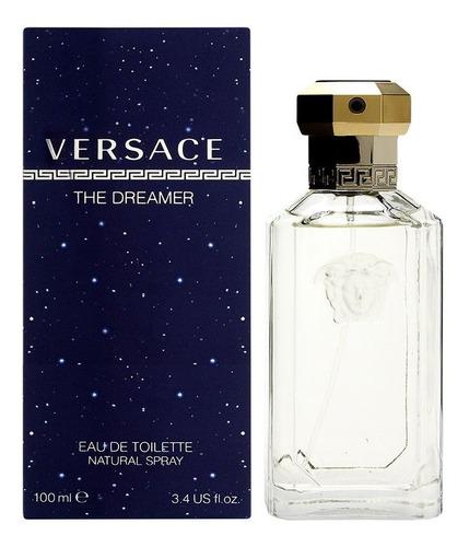 Imagen 1 de 4 de Versace Dreamer  Caballero 100ml Edt Envio Gratis